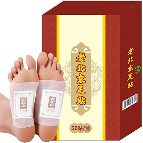 Tixiyu Detox Foot Plasters Foot Pads Natural Organic Body Toxins Removal Deeper Sleep Foot Pads, Natural Premium Ingredients for Best Relief & Results Apply Sleep