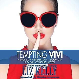 Tempting Vivi audiobook cover art