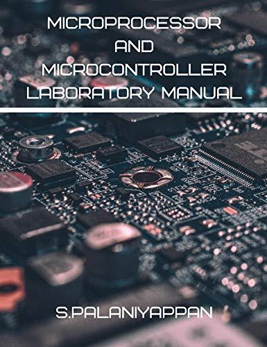 MICROPROCESSOR AND MICROCONTROLLER LABORATORY MANUAL