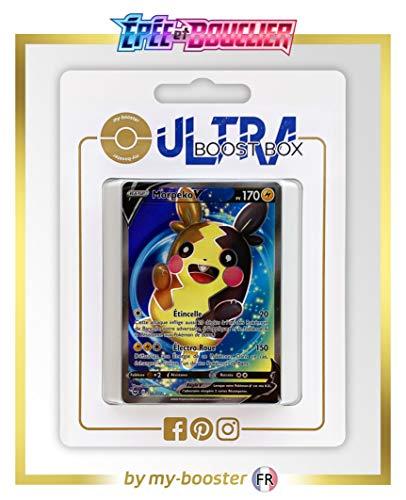 my-booster Morpeko V 190/202 Full Art - Ultraboost X Epée et Bouclier 1 - Coffret de 10 Cartes Pokémon Françaises
