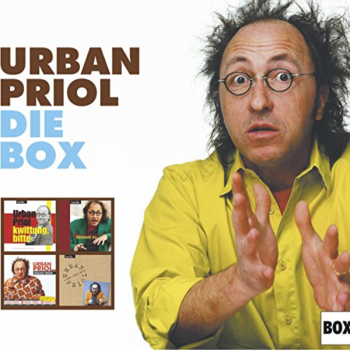 Priol - die Box                   Autor:                                                                                                                                 Urban Priol                               Sprecher:                                                                                                                                 Urban Priol                      Spieldauer: 5 Std. und 1 Min.     28 Bewertungen     Gesamt 4,8