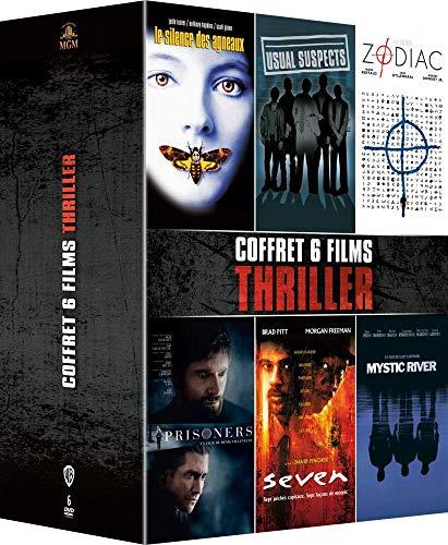 Coffret thriller 6 films