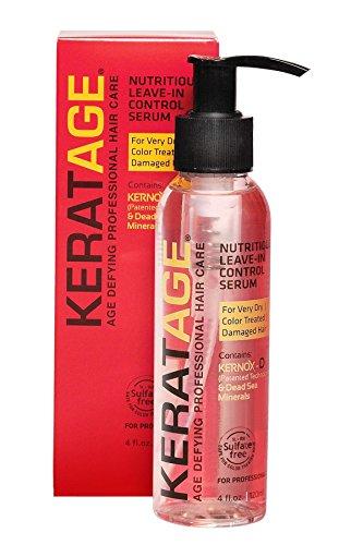Keratage Nutritious Leave In Control Serum 4 oz