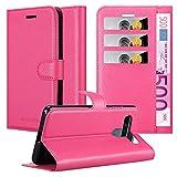 Cadorabo Custodia Libro per LG K61 in Rosa Vivo - con Vani di Carte, Funzione Stand e Chiusura Magnetica - Portafoglio Cover Case Wallet Book Etui Protezione