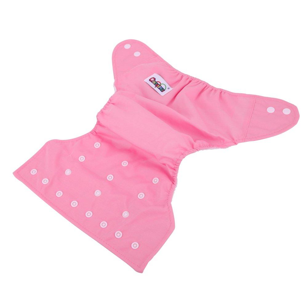domybest wiederverwendbar Infant Windeln Kleinkinder Grid weichem verstellbar Baby T/öpfchen Training Pants