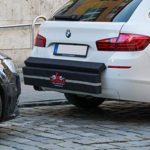 MuscleBumper Protección Parachoques Coche - Bache Espuma contra choques Traseros en estacionamiento Auto