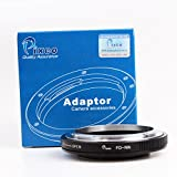 Pixco Pro Lens Mount Adapter for Canon FD Lens to Nikon F Adapter D850 D7500 D7000 D300S D7100 D5200 D600 D3X D90 D700