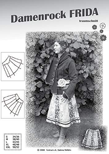 Farbenmix Frida Schnittmuster (Papierschnittmuster in den Grš§en 34/36-50/52) Rock
