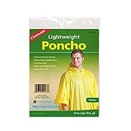 RAIN PONCHO (YELLOW OR CLEAR)
