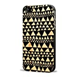 Recover Triangle Wood Case for iPhone 4/4S -...
