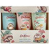 Cath Kidston Hedgehogs - Caja de regalo para crema de manos, 3 x 30 ml