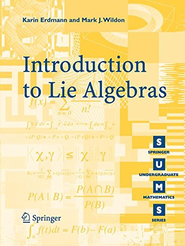 Introduction to Lie Algebras (Springer Undergraduate Mathematics Series)