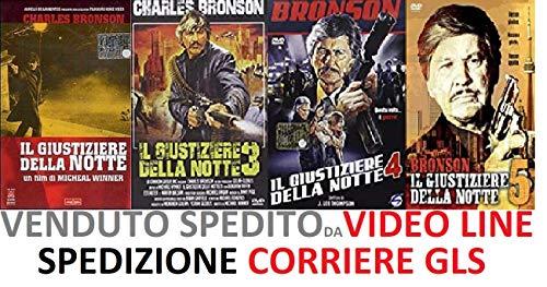Il Giustiziere Della Notte 1-3-4-5 (4 Film Dvd) - Charles Bronson - Edizione Italiana
