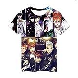 JUNG KOOK Kpop BTS 3D Print T-Shirt SUGA J-Hope Jimin JIN V Couple Shirt