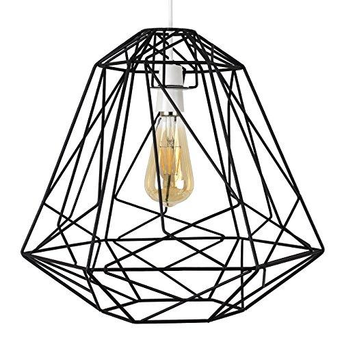 MiniSun – Grote koperkleurige lampenkap van metaal in retro kooidesign – voor Hanglampen