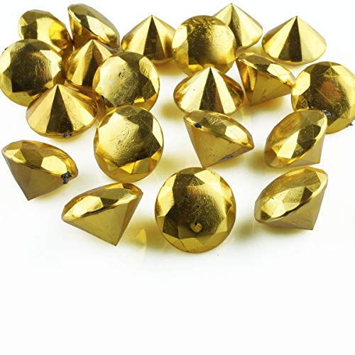 Perles avec trou-différentes couleurs Pépites de verre trimits