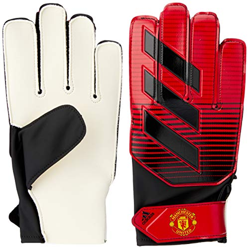 adidas Kinder Young Pro Manchester United Torwarthandschuhe, Real Red/White/Black, 10