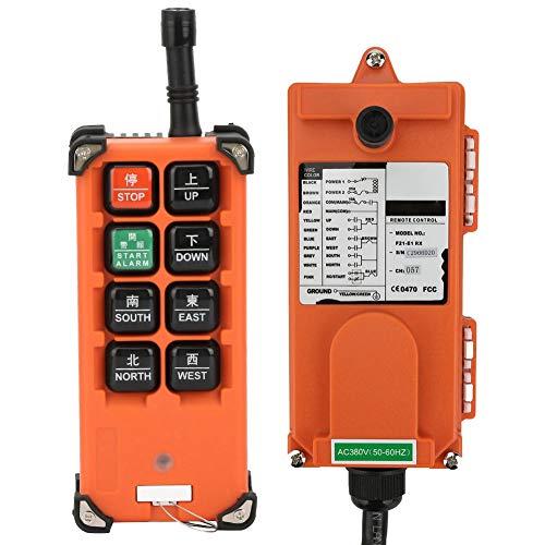 Mando a distancia, 2 transmisores, 1 receptor, funciones internas, polipasto eléctrico, control...