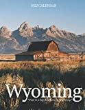 Wyoming 2022 Calendar: Mini Calendar 2022 with Large Grid for Note - To do list, Gorgeous 8.5x11   Small Calendar, Non-Glossy Paper