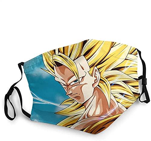 Hirola Máscara clásica de Dragon Ball reutilizable con impresión 3D, antivaho, a prueba...