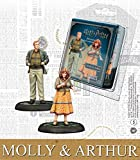 KNIGHT MODELS Juego de Mesa - Miniaturas Resina Harry Potter Muñecos Mini Adventure Molly...