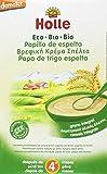 Holle Papilla de Espelta (+4 meses) - Paquete de 6 x 250 gr - Total: 1500 gr