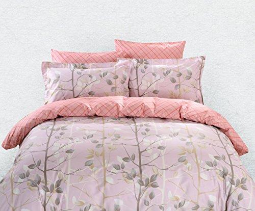 DM609Q Duvet Cover Sheets Set, Dolce Mela Bologna Queen Size Bedding Set