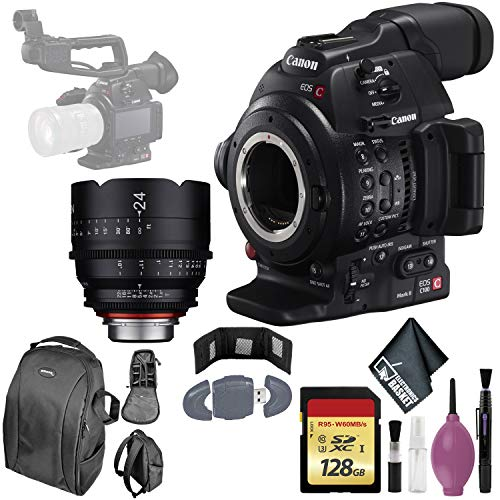 Lowest Prices! Canon EOS C100 Mark II Cinema EOS Camera with Dual Pixel CMOS AF (Body Only) Internat...