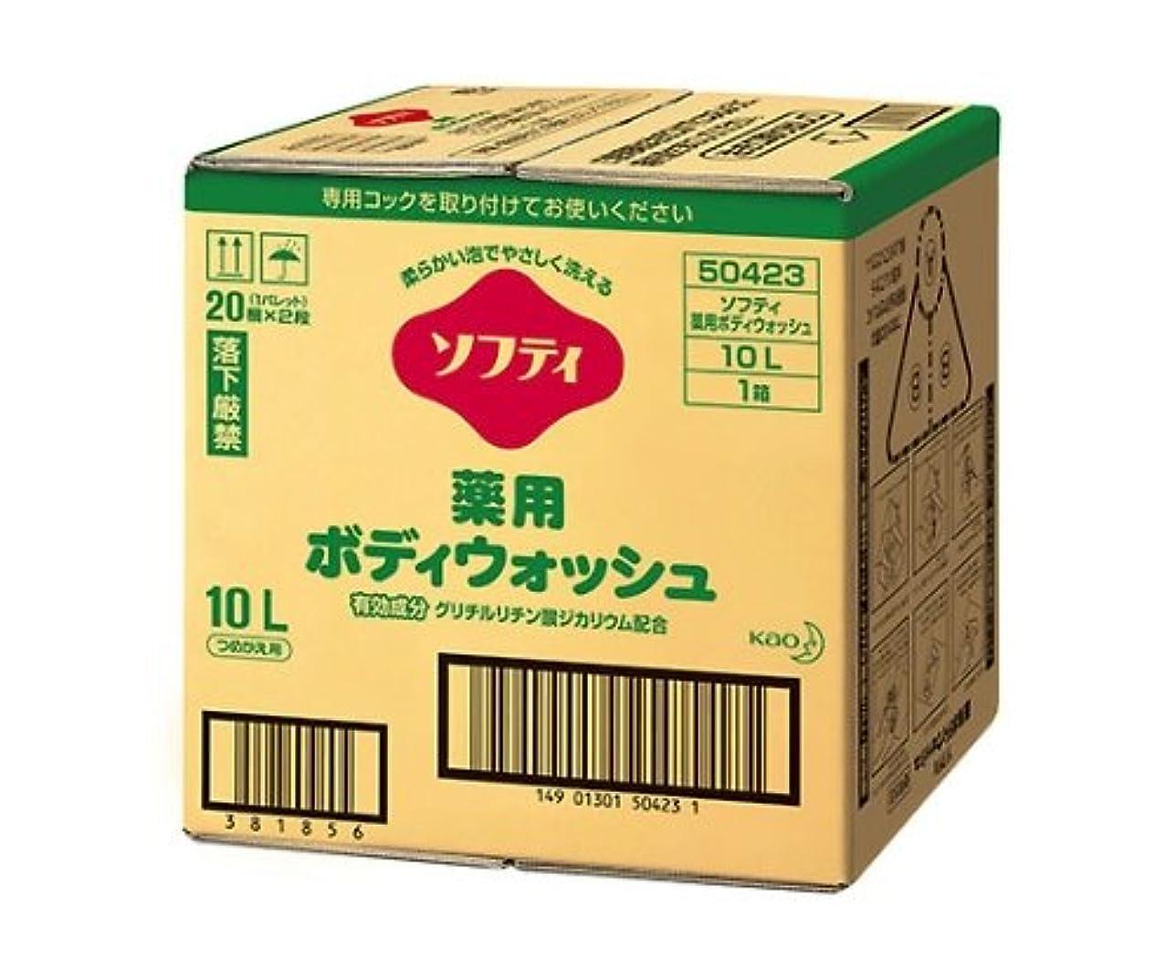 とは異なり伝える相反する花王61-8510-03ソフティ薬用ボディウォッシュ10Lバッグインボックスタイプ介護用
