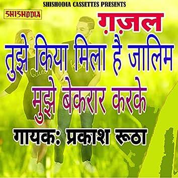Tujhe Kya Mila Hai Jalim Mujhe Bekarar Karke