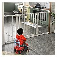 キッチンチャイルドセーフティゲート、 階段 バッフル 保護手すり にとって 犬 子供たち、 自動クローズ 隔離ドア、 圧力ネジの取り付け (Color : White, Size : 139cm-145cm)