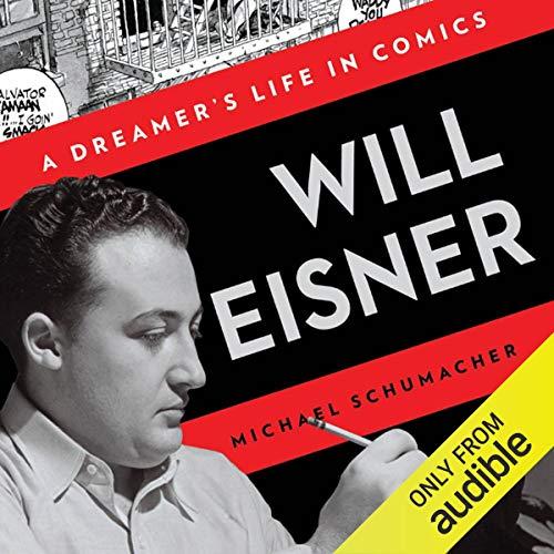 Will Eisner audiobook cover art