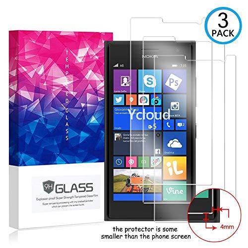 Ycloud [3 Pack] Pellicola Protezione di Schermo per Nokia Lumia 735,[9H Dureza/0.3mm],[Alta Definicion] Vetro temperato Pellicola Protettiva per Nokia Lumia 735