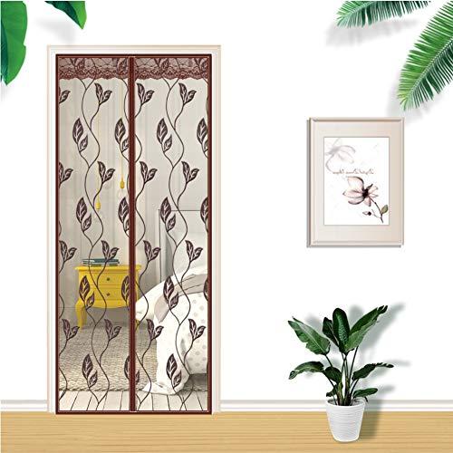 Magnetische deur gordijn stoer en duurzaam vliegen insect scherm deur muggen gordijn met volledige frame haak en lus