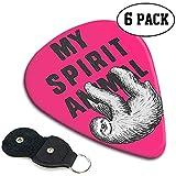 Choix de guitares Celluloid par My Spirit Animal Classic pour votre guitare électrique, acoustique, mandoline, basse et ukulélé