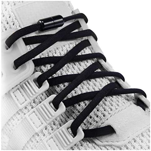 Elastic No Tie Shoe Laces For Adults Kids Elderly System With Elastic Shoe Laces 2 Pairs product image