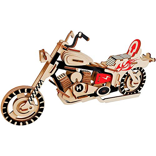 Preisvergleich Produktbild GoGoVolt / / Motorrad 3D. Spass Für Sammler. Motorradmodell,  Ideales DEKORATIONS-Element und perfektes Hobby.