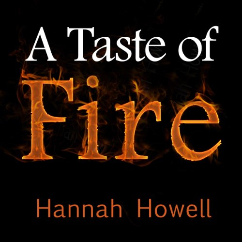 A Taste of Fire audiobook cover art