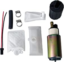 MUCO New High Performance Aftermarket Universal Electric Intank Fuel Pump with Installation Kit For Multiple Models E2157