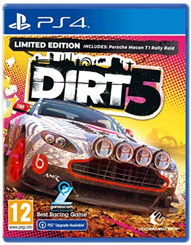 DIRT 5 (Amazon Limited Edition) (PS4) [Español, inglés, italiano, francés, alemán]