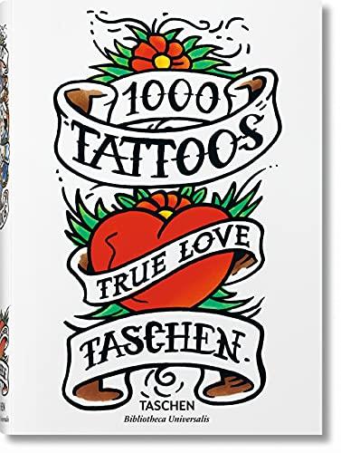 1000 Tattoos (Bibliotheca Universalis) (Multilingual Edition)