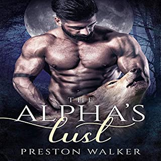 The Alpha's Lust audiobook cover art