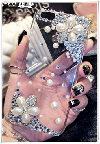 HTC One A9 Pearl Flower cáscara del teléfono celular, cáscara transparente del teléfono celular del gel de sílice (qué tipo de cáscara del teléfono móvil se necesita?