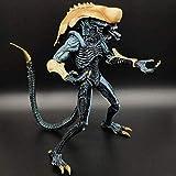Lianlili Juegos - Aliens Vs Predator - 7' Alien Scale (Amarillo) de colección Figura de acción for los Ventiladores de Alien 23cm