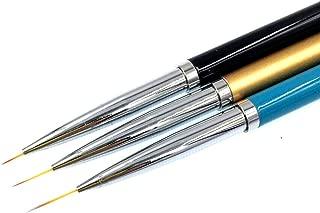 Renovatio Nails - 3Pcs Nail Art Brush Liner Pens UV Gel Polish Paint Drawing Brushes Manicure Tool
