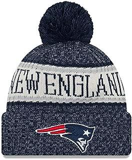 Knit New England Patriots Biggest Fan Redux Sport Knit Winter Stocking Beanie Pom Hat Cap NFL