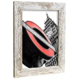 Bilderrahmen Fotorahmen 10x15 cm Vintage bilderrahmen zum aufhängen MDF Picture Frames Farbe und 40 Verschiedene Größen wählbar ohne Passepartout Rahmen London