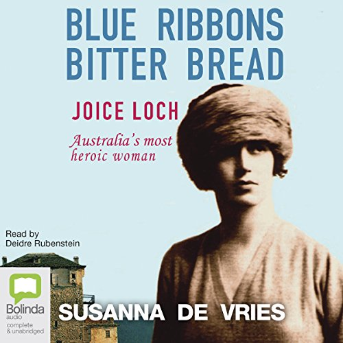 Blue Ribbons, Bitter Bread audiobook cover art