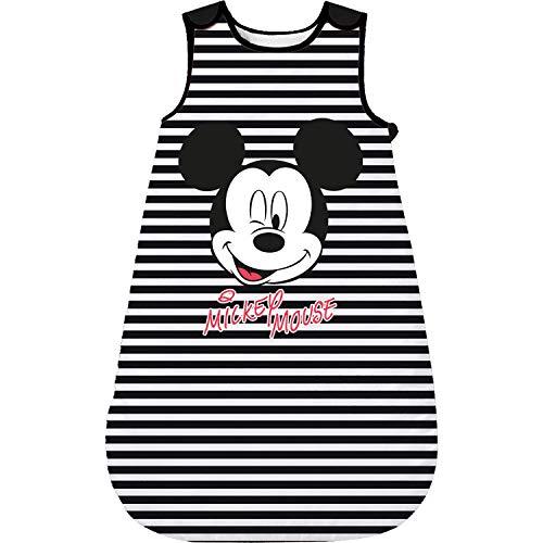 Mickey Mouse - Baby Schlafsack wattiert, ohne Ärmel, Mädchen Jungen (70)