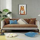 Funda de sofá Antideslizante para 2 cojines, protector de...